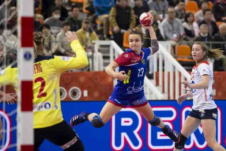 Handball WM 2019 Bronze - Russland vs. Norwegen - Anna Vyakhireva - Copyright: IHF