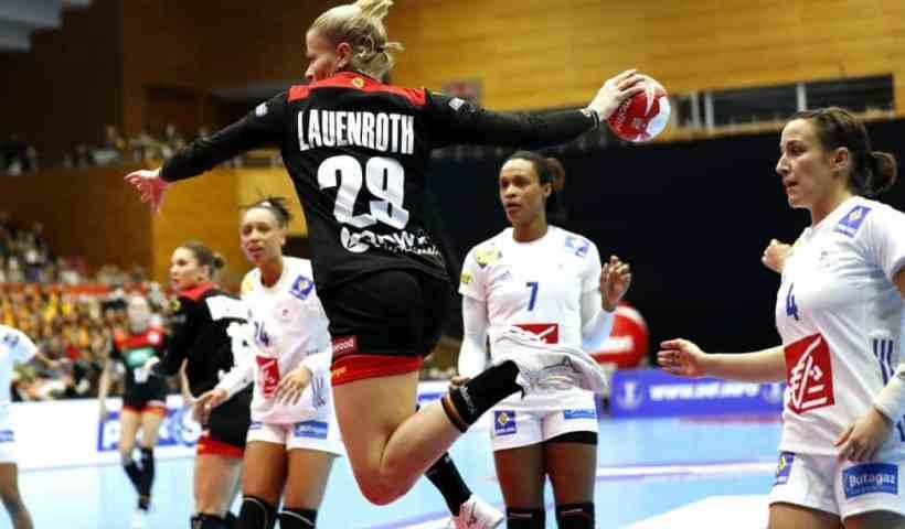 Handball WM 2019 - Deutschland vs. Frankreich - Antje Lauenroth - Copyright: IHF