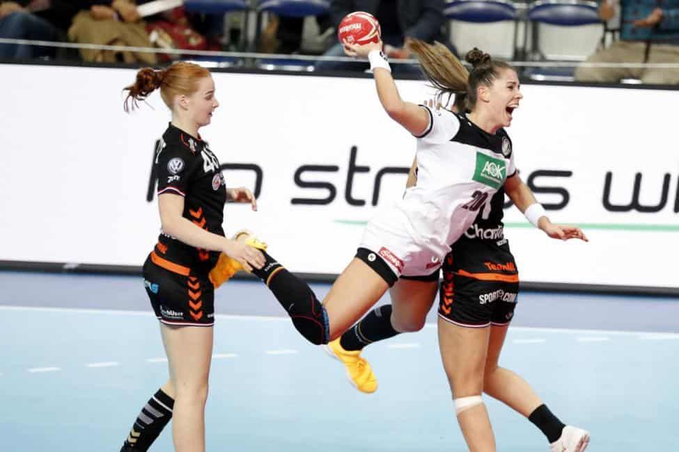 Handball WM 2019 - Emily Bölk - Deutschland vs. Niederlande - Copyright: IHF