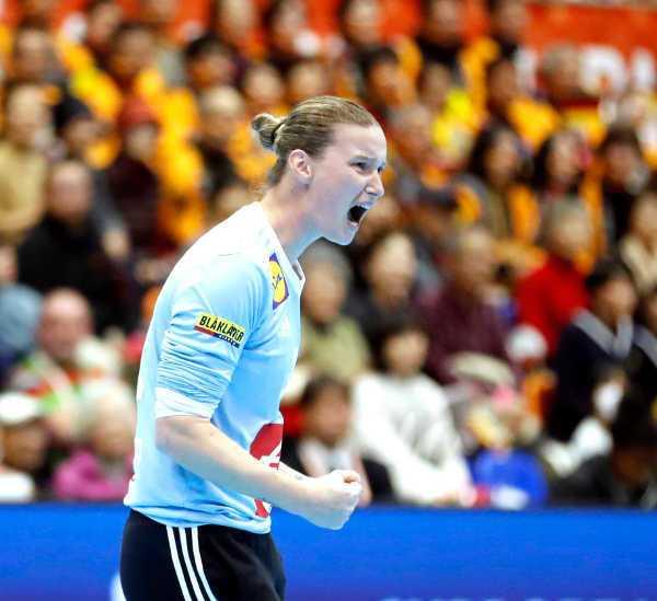 Handball WM 2019 - Amandine Leynaud - Frankreich vs. Deutschland - Foto: FFHandball / S. Pillaud