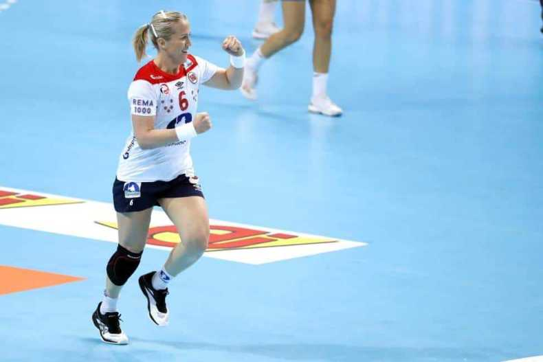 Handball WM 2019 - Heidi Löke - Norwegen vs. Slowenien - Copyright: IHF