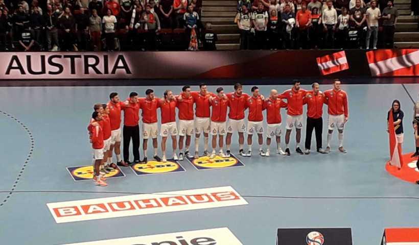 Handball EM 2020 - Team Österreich vs Kroatien - Copyright: SPORT4FINAL