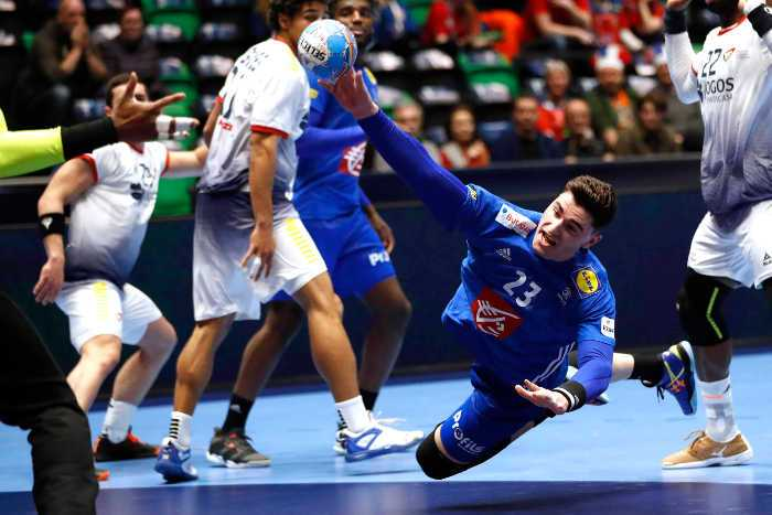 Ludovic Fabregas - Handball EM 2020 - Frankreich vs. Portugal - Foto: FFHandball / S. Pillaud