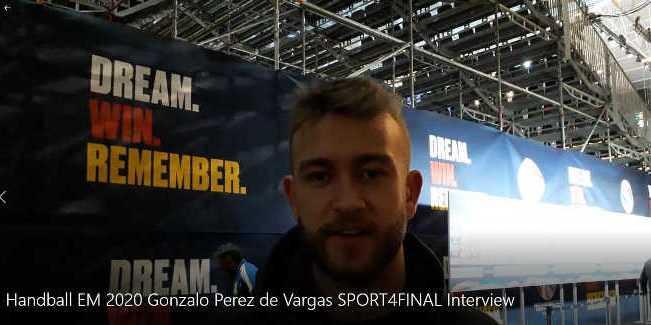 Handball EM 2020 - Gonzalo Perez de Vargas - Spanien - Copyright: SPORT4FINAL