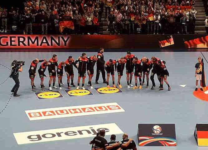 Handball EM 2020 - Team Deutschland vs Kroatien - Copyright: SPORT4FINAL