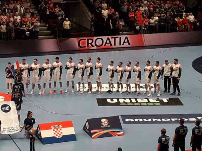 Handball EM 2020 - Team Kroatien vs Deutschland - Copyright: SPORT4FINAL