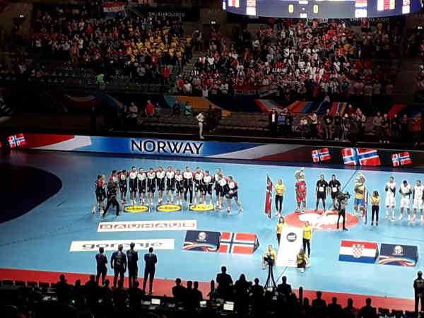 Handball EM 2020 - Team Norwegen vs Kroatien - Copyright: SPORT4FINAL