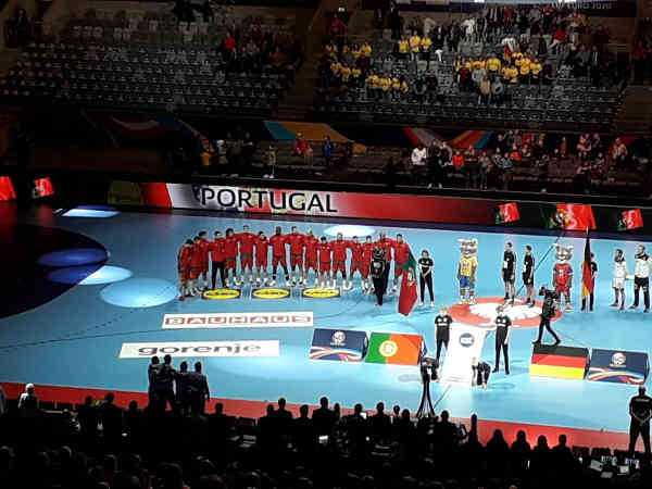 Handball EM 2020 - Team Portugal vs Deutschland - Copyright: SPORT4FINAL