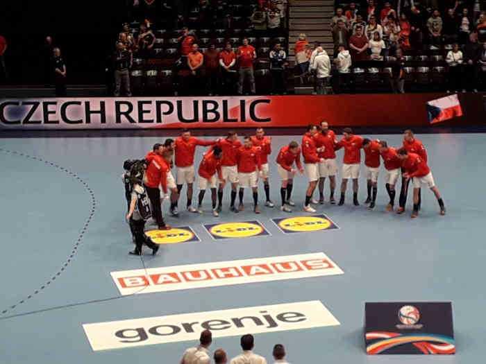 Handball EM 2020 - Team Tschechien vs. Spanien - Foto: SPORT4FINAL