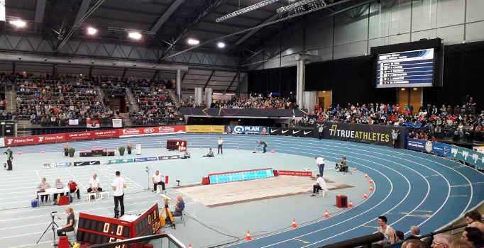 Leichtathletik Deutsche Hallen Meisterschaft Leipzig 2020 - Copyright: SPORT4FINAL