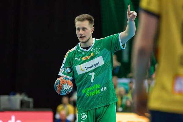 Luca Witzke - SC DHfK Leipzig - Foto: Karsten Mann