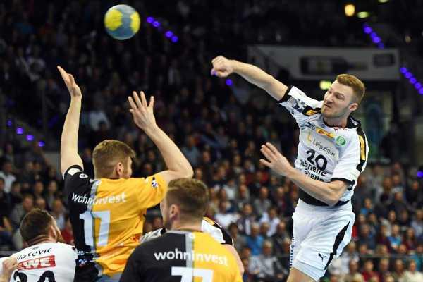 Handball Bundesliga: Philipp Weber - TVB Stuttgart vs. SC DHfK Leipzig - Foto: Rainer Justen