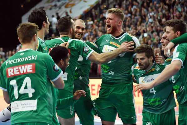 Handball Bundesliga - SC DHfK Leipzig (im Bild) vs. GWD Minden - Foto: Rainer Justen
