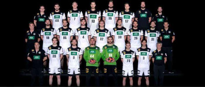 Handball EM 2020 Deutschland Männer Nationalmannschaft