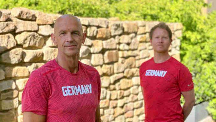 Leichtathletik - DLV - Frank Müller und Christopher Hallmann - Foto: DLV