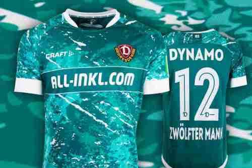 Dynamo Dresden - Torwart-Trikot Saison 2020-2021 - Foto: SGD / Dynamo-Fanshop