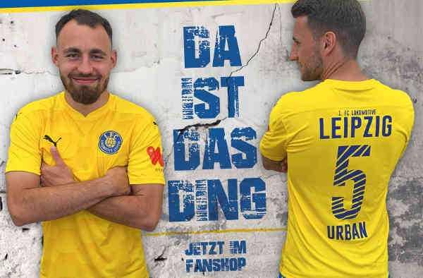 Heim-Trikot 2020/2021 1. FC Lokomotive Leipzig - Foto: 1. FC Lok Leipzig