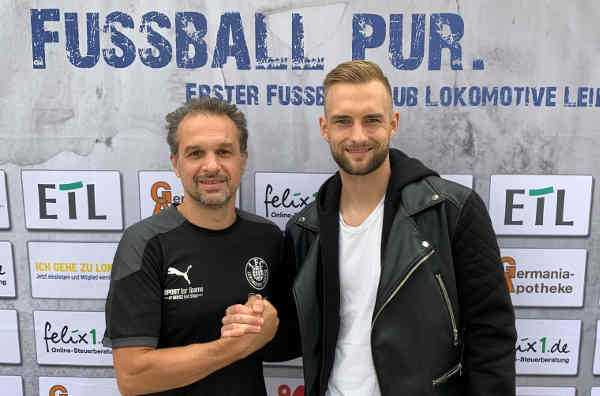 Almedin Civa und Jeroen Gies - Foto: 1. FC Lok Leipzig