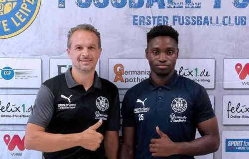 Almedin Civa und Goteh Ntignee - Foto: 1. FC Lok Leipzig