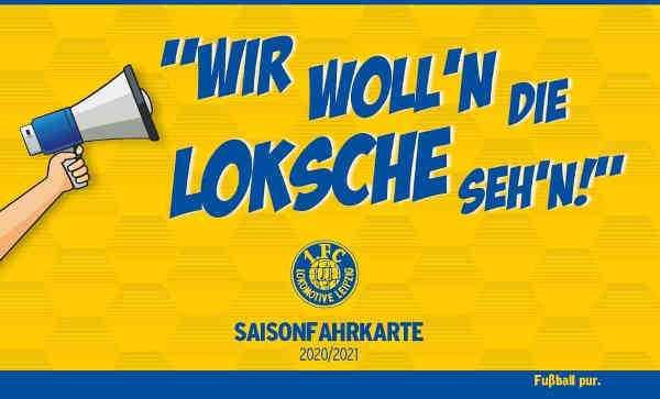 Saisonfahrkartenverkauf 1. FC Lok Leipzig - Foto: 1. FC Lok Leipzig