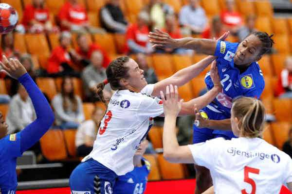 Handball Golden League - Frankreich vs. Norwegen - Copyright: FFHandball / S. Pillaud