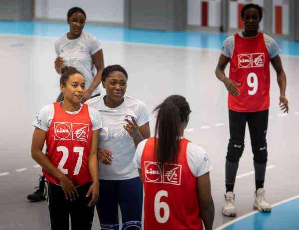 Handball EM 2020 Frankreich Training - Copyright: FFHANDBALL / J.SCHLOSSER