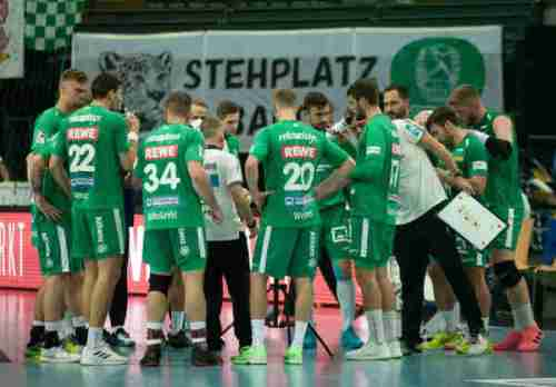 SC DHfK Leipzig Time out - Foto: Klaus Trotter
