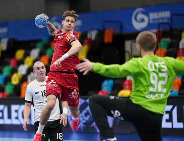 Handball EM 2022 Qualifikation: Sebastian Frimmel - Österreich vs. Estland - Copyright: ÖHB-Agentur DIENER-Eva Manhart
