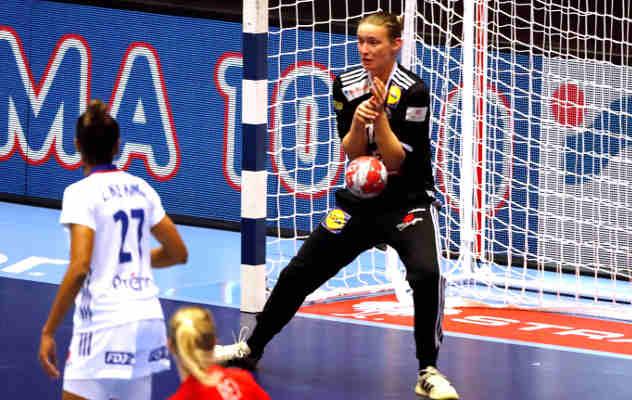 Handball EM 2020 Frauen - Amandine Leynaud - Frankreich vs. Dänemark - Copyright: FFHANDBALL-S.PILLAUD