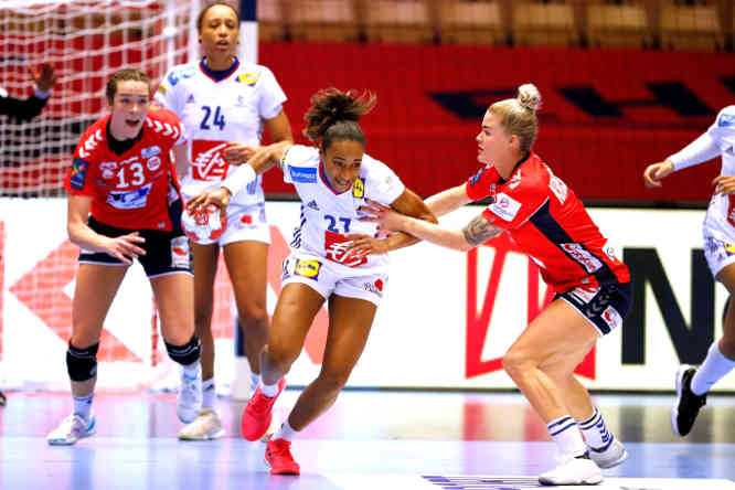 Handball EM 2020 Finale - Estelle Nze Minko - Frankreich vs. Norwegen - Copyright: FFHANDBALL-S.PILLAUD