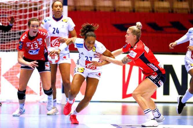 Handball EM 2020 Finale - Estelle Nze Minko - Frankreich vs. Norwegen - Copyright: FFHANDBALL-S.PILLAUD