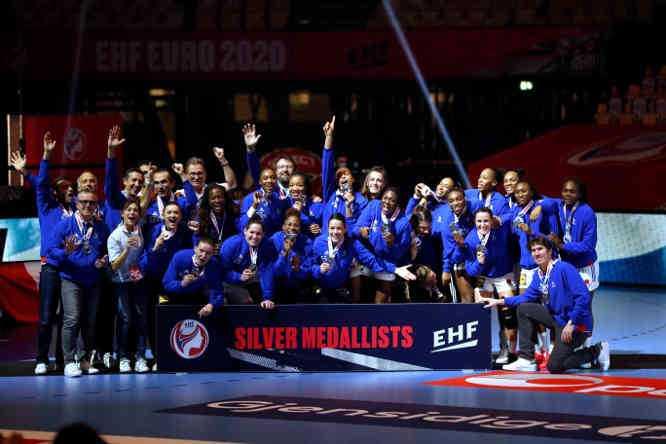 Handball EM 2020 Finale - Frankreich Silbermedaille - Copyright: FFHANDBALL-S.PILLAUD