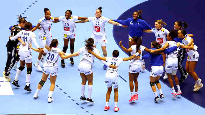 Handball EM 2020 Frauen - Frankreich vs. Dänemark - Copyright: FFHANDBALL-S.PILLAUD