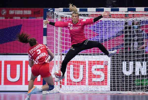Handball EM 2020 - Tess Wester - Niederlande vs. Kroatien - Copyright: Henk Seppen