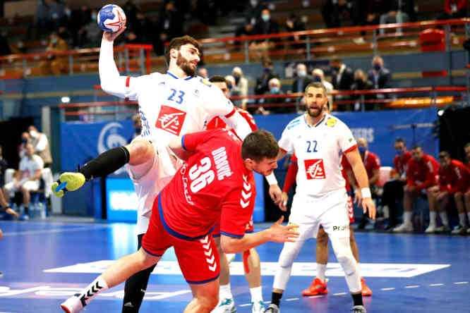 Handball EM 2022 Qualifikation - Frankreich vs. Serbien - Ludovic Fabregas - Copyright: FFHANDBALL / S.PILLAUD