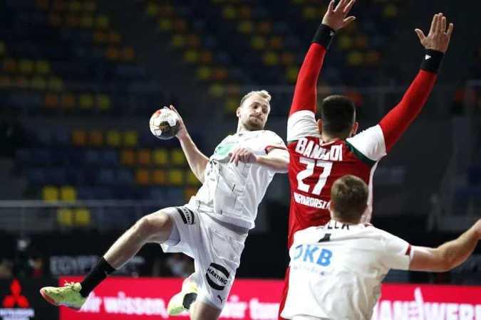 Handball WM 2021 Ägypten - Deutschland vs. Ungarn - Copyright: © IHF / Egypt 2021