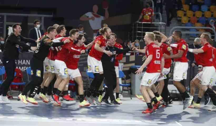 Handball WM 2021 Ägypten Finale - Dänemark vs. Schweden - Copyright: © IHF / Egypt 2021