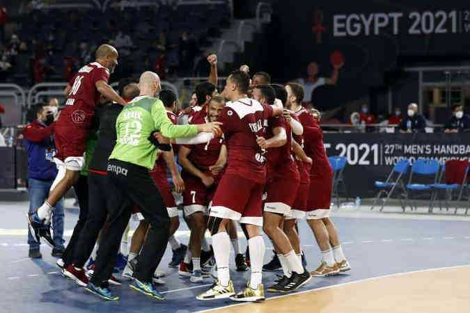 Handball WM 2021 Ägypten - Katar (im Bild) vs. Argentinien - Copyright: © IHF / Egypt 2021