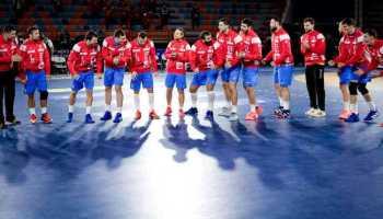 Handball WM 2021 Ägypten - Kroatien (im Bild) vs. Angola - Copyright: © IHF / Egypt 2021