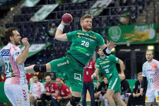Maciej Gebala - SC DHfK Leipzig - Foto: Karsten Mann