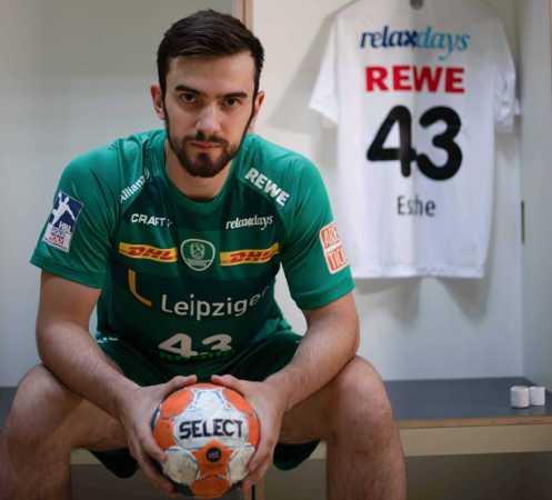Marc Esche - Foto: SC DHfK Leipzig
