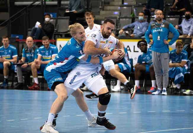 Handball Bundesliga - TVB Stuttgart vs. SC DHfK Leipzig - Foto: Klaus Trotter