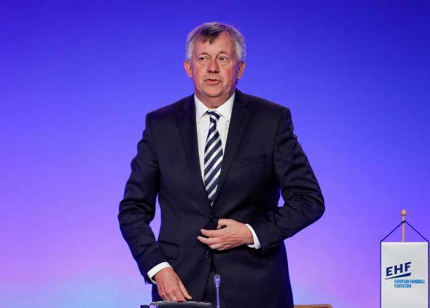 Michael Wiederer - EHF Präsident - EHF Kongress 2021 - Foto: Uros Hocevar / Kolektiffimages