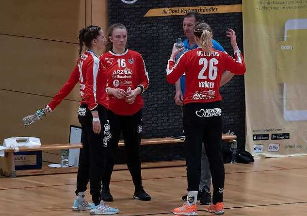 Handball 2. Bundesliga - HC Leipzig Torhüterinnen Trio - Foto: HC Leipzig