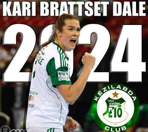 Handball Ungarn: Kari Brattset Dale - Foto: Györi Audi ETO KC
