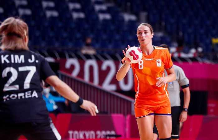 Olympia Tokio 2020 - Handball Team Niederlande - Lois Abbingh - Copyright: Orangepictures
