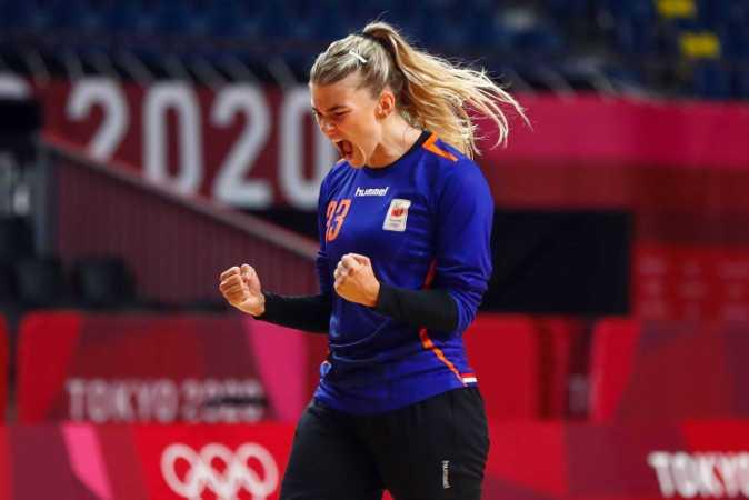 Olympia Tokio 2020 - Handball Team Niederlande - Tess Wester - Copyright: Orangepictures