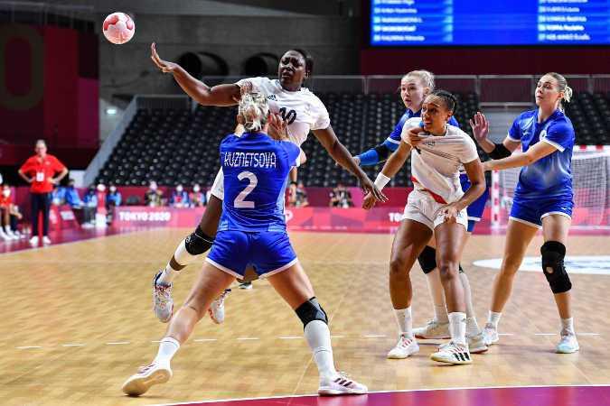 Olympia Tokio 2020 Handball Finale Frauen - Frankreich vs. ROC / Russland - Foto: FFHandball / Iconsport