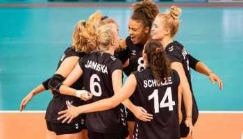 Volleyball EM 2021 - Deutschland Team - Copyright: imago images/Newspix (über Sport1)
