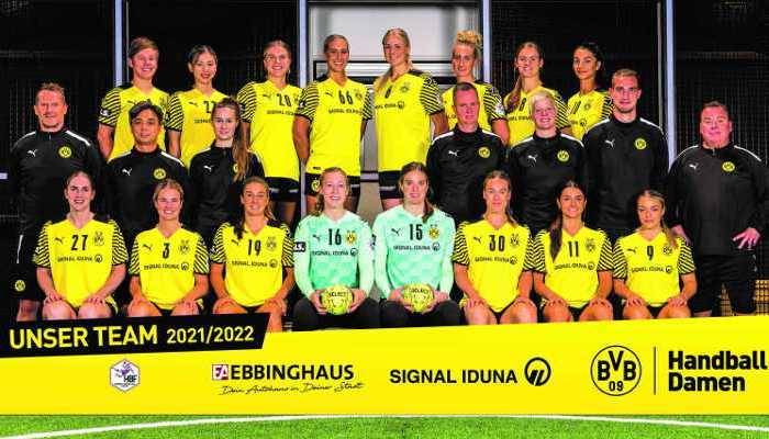 BV Borussia 09 Dortmund - Handball Bundesliga und EHF Champions League Saison 2021-2022 - Copyright: BV Borussia 09 Dortmund